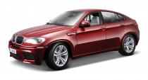 BMW X6 M 1:18 červený - VÝPRODEJ