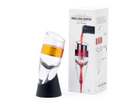 Dekanter na vino Magic wine decanter, průtokový, Domestico