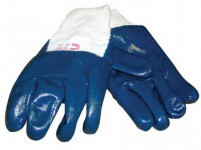 rukavice RONNY bavlna/nitril