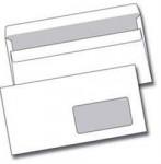 Obálka DL okénko, bílá, samolepící 110x220 mm, 50ks - VÝPRODEJ
