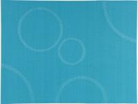 Prostírání PVC s kruhy 40x30 cm - tyrkysové, Bakly - VÝPRODEJ