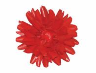 Květ voskový JIŘINA DEKOR červený 13cm
