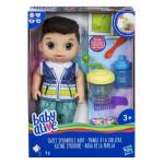 Hasbro Baby Alive Tmavovlasý chlapec s mixérem - VÝPRODEJ