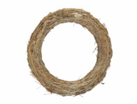 Kruh aranžovací slámový d30/5cm