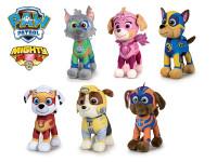 Paw Patrol Mighty pups plyšoví 19 cm stojící - mix variant či barev - VÝPRODEJ