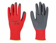 Rukavice BLADE pracovní polyesterový úplet velikost 10