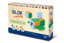 Stavebnice Blok z melásky 12m+