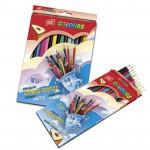 EasyColours dřevěné pastelky trojhranné 18 ks/sada