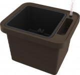 Plastia truhlík samozavlažovací Berberis Uno - čokoládový 45 cm