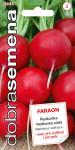 Dobrá semena Ředkvička červená - Faraon 3g - VÝPRODEJ
