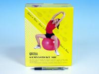 Gymnastický míč relaxační 85cm - mix barev