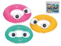 Kruh velké oči nafukovací 61 cm - mix barev