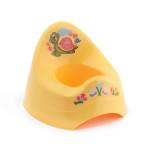 Dětský nočník s melodií, žlutý s želvou, Cuculo - VÝPRODEJ