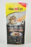 Gimcat Nutri pockets drůbeží s biotinem 60g - VÝPRODEJ