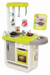 Kuchyňka Bon Appetit Cherry zeleno-šedá elektronická