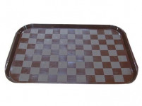 tác (čtverce) 49x35cm plastový - mix barev