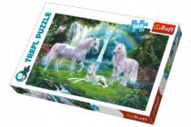 Puzzle Jednorožci koně 260 dílků 60x40cm