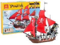 Stavebnice Wange - pirátská loď