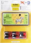Odhaněč akustický - OdM 3 s bateriemi (6ks) v blistru - VÝPRODEJ