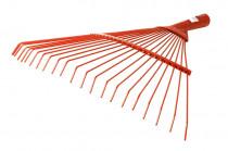 Hrábě švédské kovové kulaté trny - oranžová
