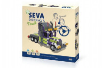 Stavebnice Seva Doprava Truck plast 402 dílků