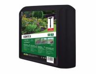 Textilie KONTEX mulčovací černá 1,6x10m + kotvící kolíky 6ks - VÝPRODEJ