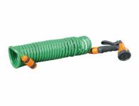Hadice kroucená zelená 7,5m 2ks