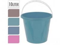 vědro 10l s měrkou plastové, K - mix barev