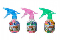 Pumpa na vodní bomby + bomby 50ks plast 17cm - mix barev