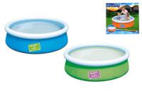 Bazén nafukovací 152x38 cm 477 L - mix barev