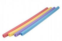 Vodní tyč plavací pěnová trubice 155cm průměr 6cm - mix barev