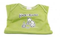 Dětské body Mayaka s dlouhým rukávem The Lord of the Rings - zelené Vhodné pro věk 12-18 měsíců - VÝPRODEJ