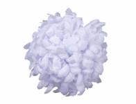Květ voskový CHRYZANTÉMA bílý 14cm - VÝPRODEJ