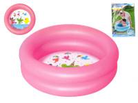 Bazén nafukovací 2 komory 61x15cm 21L - mix barev