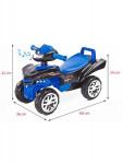 Odrážedlo čtyřkolka Toyz miniRaptor modré - VÝPRODEJ