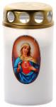 Svíčka Vatikánka velká s víčkem obtisk 120 g