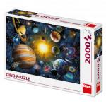 Puzzle 2000 dílků: Sluneční soustava