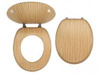 sedátko WC dřev. BAMBUS
