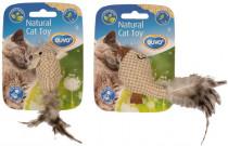 hračka cat přírodní DUVO+ zvířátko s šantou