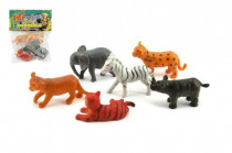 Zvířátka mláďata safari ZOO plast