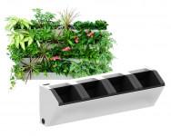 Truhlík pro vertikální zahradu, bílá barva, GreenSun