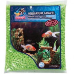 Písek akvarijní Neon zelený Flamingo 1 kg, 4 -7 mm