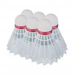 Spokey Shoot Red badmintonové míčky 6ks nylonové