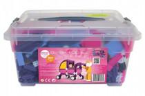 Stavebnice Seva pro holky 1 Jumbo plast 1172ks v plastovém boxu