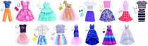 Mattel Barbie ŠATY S DOPLŇKY - mix variant či barev