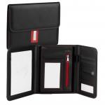 Obchodní složka/diplomatka Guriatti A5-B-02-G černo-červená formát A5 - VÝPRODEJ