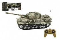 Tank RC TIGER I plast 25cm na baterie se zvukem se světlem