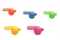 Píšťalka plast 5cm - mix barev - VÝPRODEJ