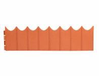 Obruba GARDEN FENCE terakota 5,9x0,16m