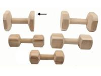 Aport tréninkový dřevo B&F 650 g - VÝPRODEJ